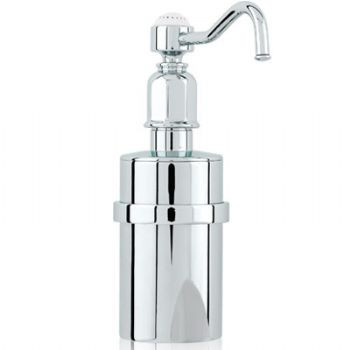 An image of Perrin and Rowe Traditional Collection Wall Mounted Soap Dispenser 6973
