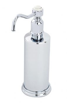 An image of Perrin and Rowe Traditional Collection Freestanding Soap Dispenser 6933