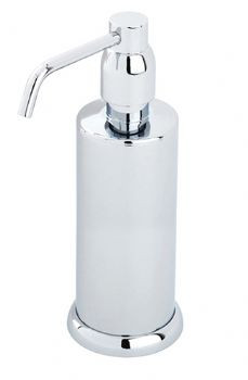 An image of Perrin and Rowe Contemporary Collection Freestanding Soap Dispenser 6433